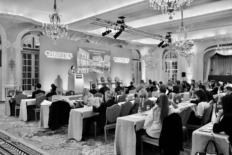 Christies Conference bw