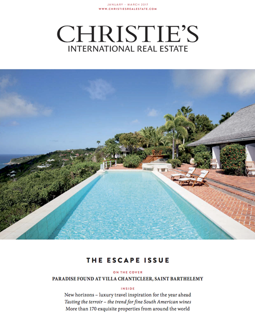 Christie's real estate magazine - Januar 2017