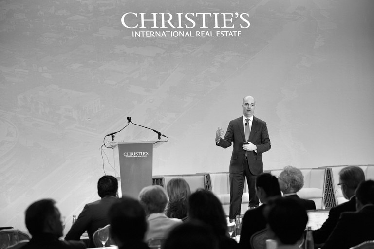 Christies Conference Dan Conn bw