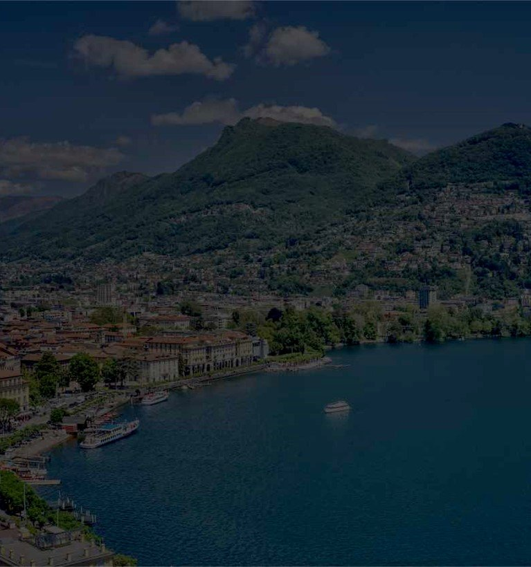 Lake Lugano Dark