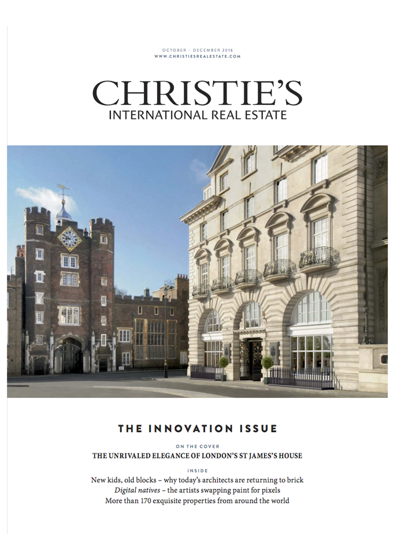 Christie's Real Estate Magazine - September 2016